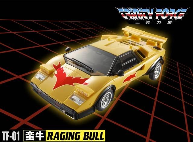 Transformers TFC toy TF-01 Raging Bull Road Caesar Laster in Stock