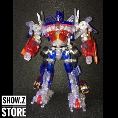 4th Party Family Mart Exclusive Leader Class Buster Opitmus Prime Clear Version