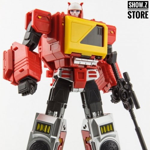 KFC E.A.V.I. Metal Phase 4A Transistor & Hifi Pure Red Version Blaster/Twincast/Sg Blaster/Doubledeck