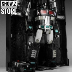 4th Party MP-10B Optimus Prime Black Version Figure & Trailer