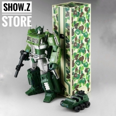 4th Party MP10A Optimus Prime Convoy Bape Green Camo Version