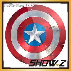 [Metal Made] CATTOYS 1:1 Captain America Battle Damaged Shield Replica Prop Perfect Version