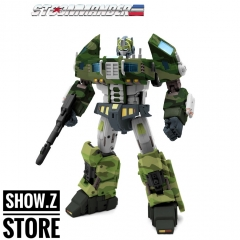 TFC Toys STC-01B Rolling Thunder Supreme Techtial Commander Optimus Prime Jungle Version