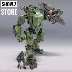 JoyToy Source Acid Rain UNF Zous Mecha Green Version