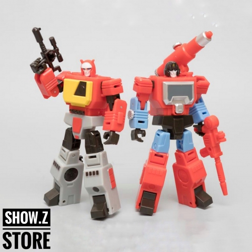 Mister Moon MM01 The Recorder & MM02 The Mic (Blaster & Perceptor) Set of 2