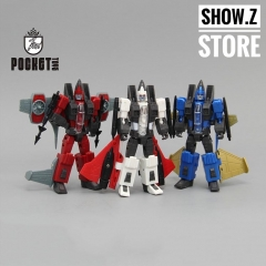 Pocket Toys PT04 PT05 PT06 Thrust Dirge Ramjet Coneheads Set of 3