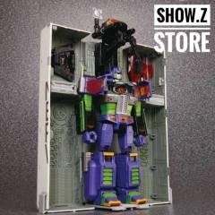 4th Party MP10 Optimus Prime EVA Painted Version /w Trailer