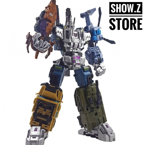 Iron Factory IF-EX22 EX24 War Giant Bruticus Full Set