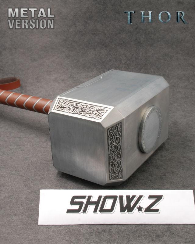 Metal Made Metal Made SHOW.Z 1//1 Avengers Thor Mjolnir Avengers Replica Prop