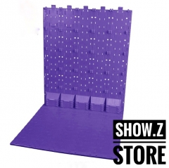 X2Toys BG-B Background Display Bases Purple Color