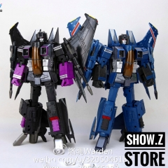 Robot Hero RH CG-03 MP06 Skywarp & CG-04 MP07 Thundercracker Set of 2 w/ Upgrade Kits