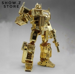 4th Party MP10G MP-10G Optimus Prime Gold Lagoon Edition