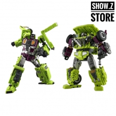[New in Box] Jinbao Oversized Devastator Long Haul & Hook [Set C]