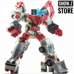 TFC Toys Perseus Devastator White Version Set of 6 Figures