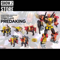 Hasbro POTP Titan Class Predaking Feral Rex Set of 5 Figures