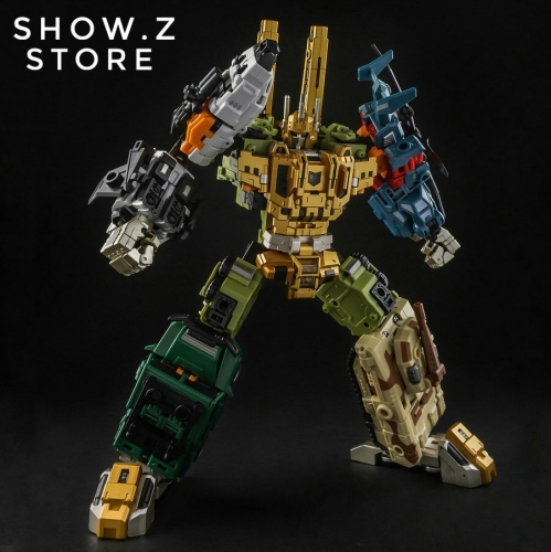 Iron Factory IF-EX24X War Giant Catastrophe Bruticus TF2000 Color Scheme Version