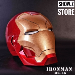 [Manual Version] Cattoys 1:1 Iron Man Mark 46 Helmet MK46 Replica w/ LED