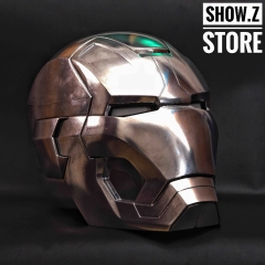[Manual Version] [Metal Made] Cattoys 1:1 Iron Man Mark 42 Helmet Replica w/ LED