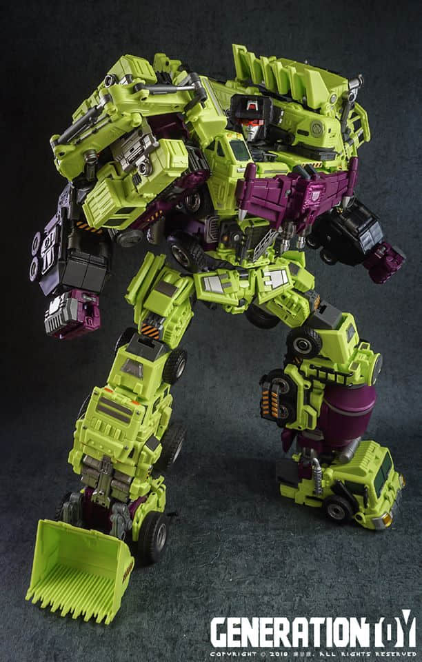 Transformers Generation GT-09 Head Upgrade Kit for Decepticons Devastator