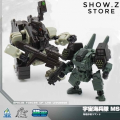 MechFansToys  Lost Planet Powered-suit MS04 Tiger& MS06 Snake Diaclone