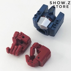FansHobby MBA-01 MBA01 Optional Head & Articulated Hands Upgrade Set for MB-06 Power Baser Optimus Prime