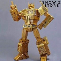 Takara MP10G MP-10G Masterpiece Optimus Prime Gold Lagoon Edition