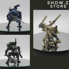 Rihio Multiabyss MM001 V-Link Mecha Striker Logistic Set Green Blue & Desert Set of 3