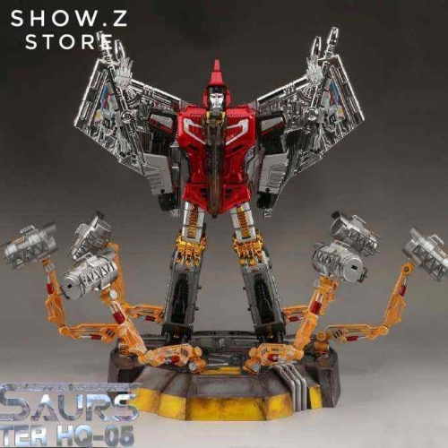 GigaPower GP HQ-05R Gaudenter Swoop Red Chrome Version