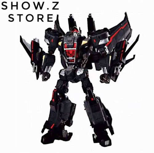 Maketoys MTCD-05 Buster Skywing Jetfire Black Version