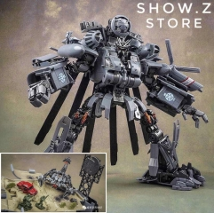 [Deluxe Ver.] Weijiang WJ M-05 M05 Hide Shadow Blackout Oversized Studio Series SS08 SS-08 Night Blades Set B Deluxe Version