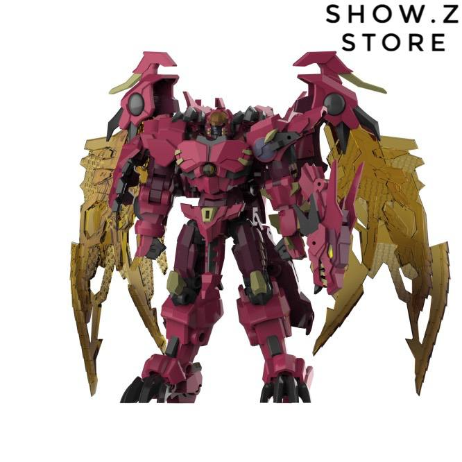 Iron Factory IF EX-43 Red Dragon Beast Wars Transformed Action Figure Robot