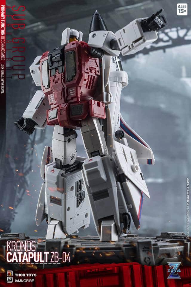 New Transformers Toys Zeta ZB-04 Catapult G1 Superion Slingshot figure instock