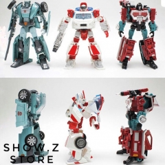 Takara TOMY Deluxe Autobots Warriors Ratchet Kup Perceptor Set of 3 Asia Exclusive