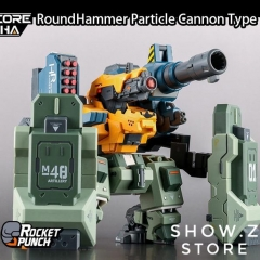 Rocket Punch Hardcore Mecha M2148S M2148X RoundHammer Siege & Particle Cannon Type