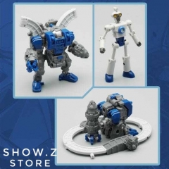 MechFansToys Mech Fans Toys Mech Soul MS-11I Mini Sentry & Doc Blue Version