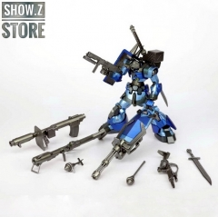 Free Model Soul FMS MG 1/100 MS-09B MS09 Dom Gundam Blue Version w/ Weapon Upgrade Kit