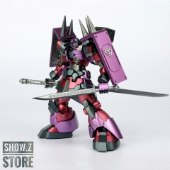 Free Model Soul FMS MG 1/100 MS-09B MS09 Dom Gundam Purple Version w/ Weapon Upgrade Kit