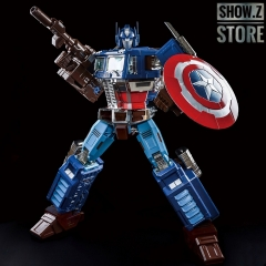 Lewin Resources LW-01A Optimus Prime Captain America Style Oversized 71cm w/ LED