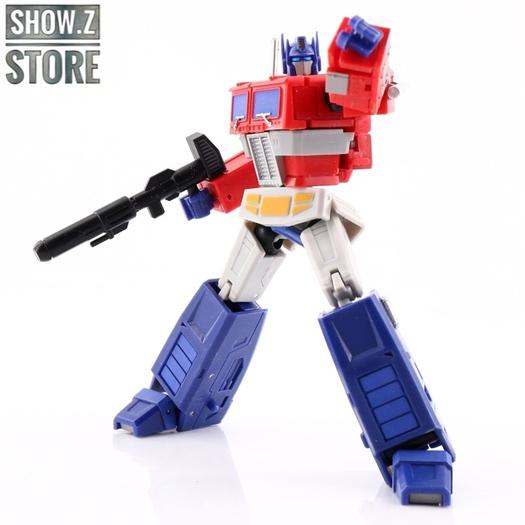 New Transformers Magic Square MS-B18B G1 Black Optimus Prime Figure In Stock