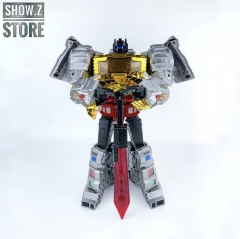 GigaPower GP HQ-01R HQ01R Superator Grimlock Dinobots Chrome Version