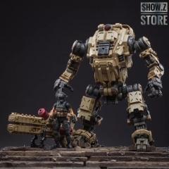 JoyToy Source Acid Rain 1/18 Freeman Machine Armor w/ Pilot Mechas & Soldiers Figure Set Desert Brown Version