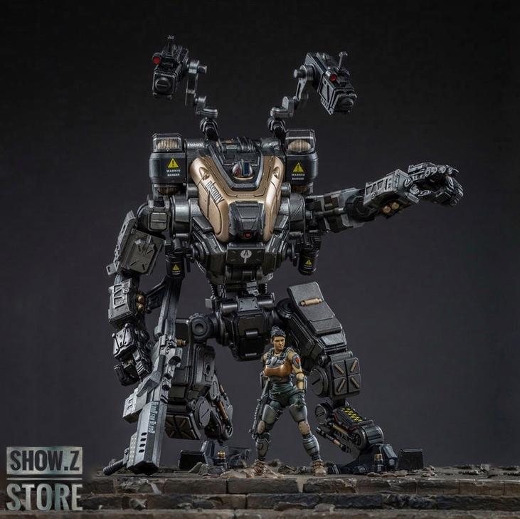 JOYTOY 1//25 God of War 86 Mecha middle-sized Blue Action Figure Robot