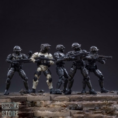 JoyToy Source Acid Rain 1/25 Obsidian Team Set of 5 Figures