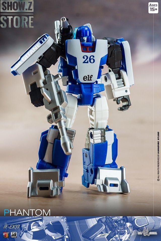 New Iron Factory Transformers IF EX-37 Phantom Mirage Figure In Stock