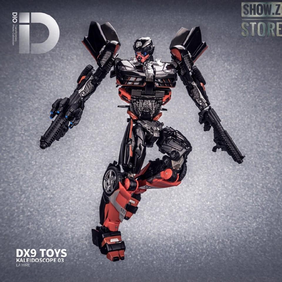 DX9 K3 La Hire Rodimus Hot Rod