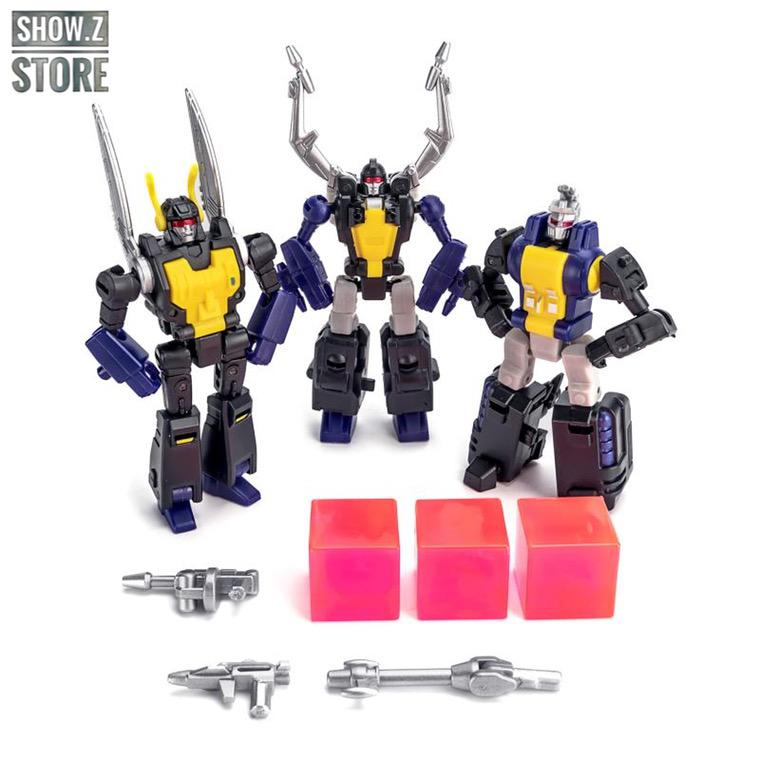Set 3 Pieces Legends Insecticons Bombshell Shrapnel Kickback Action Figure Toy