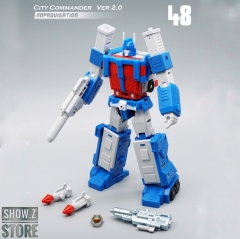 MechFansToys MF48 City Commander Ultra Magnus Version 2.0 Improvisation