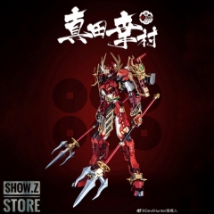 [In Coming] Devil Hunter DH DH-02 DH02 1/100 Red Musha Sanada Yukimura Gundam Metal Build Complete Model