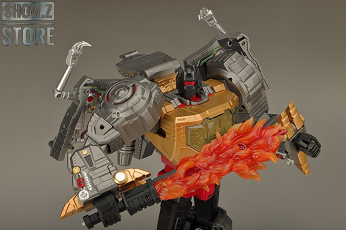 PRE ORDER Transformers TOY GP HQ-01 HQ01 Superator G1 Grimlock Metallic Version