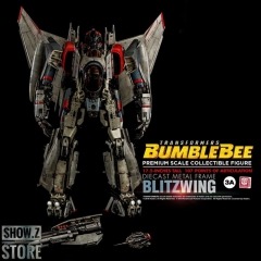 "[Pre-Order] ThreeA 3A Toys Premium Scale Blitzwing Collectible Figure 17.5"" w/ LED"